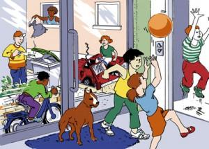 illustration pour enfants