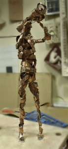 sculpture trompettiste